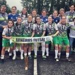 Arneiros conquista Taça Nacional de futsal feminino