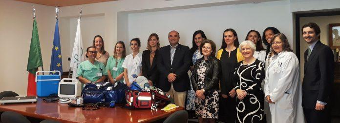 Câmara Municipal oferece equipamentos para a Unidade de Hospitalização Domiciliária do Centro Hospitalar do Oeste