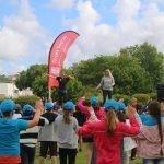900 crianças na festa de encerramento da atividade física e desportiva das AECS