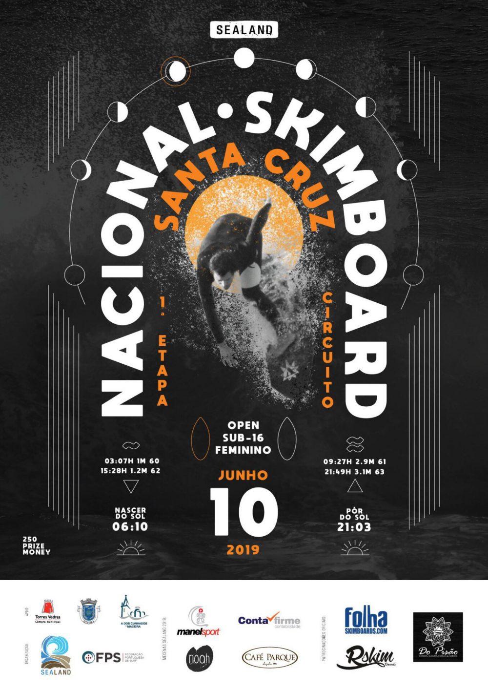 Santa Cruz recebe etapa inaugural do Nacional de Skimboard