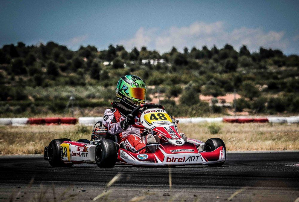 Santiago Ribeiro com bom desempenho na 3ª etapa do Campeonato Espanhol de Karting