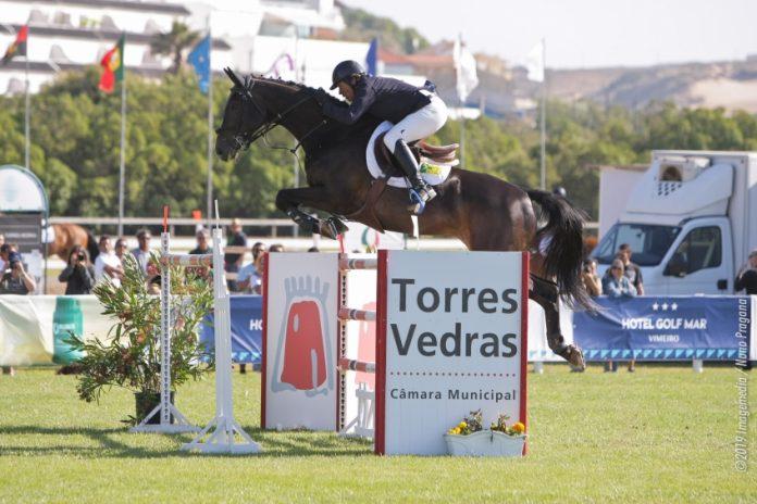 Luis Sabino Gonçalves vence Concurso de Saltos do Vimeiro