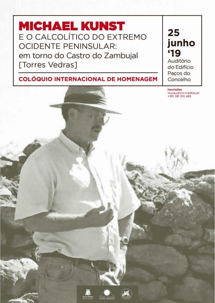 Torres Vedras acolhe colóquio internacional de homenagem a Michael Kunst