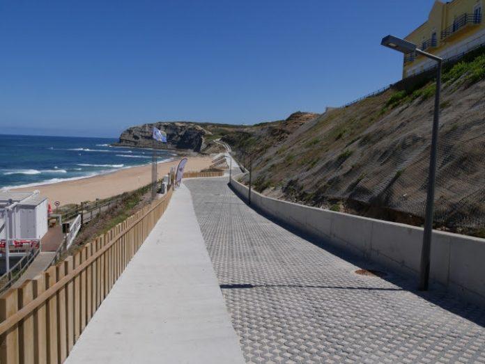 Requalificação da Orla Costeira do concelho chegou à Praia Azul