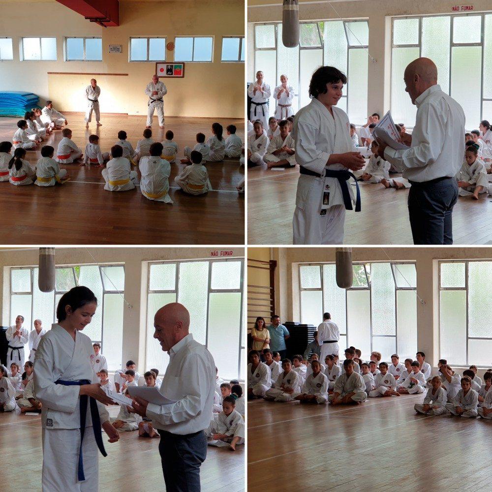 21 karatecas da Física passaram nos Exames da 2ª. Época