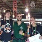 Atleta torriense sagrou-se campeã nacional de Kickboxing
