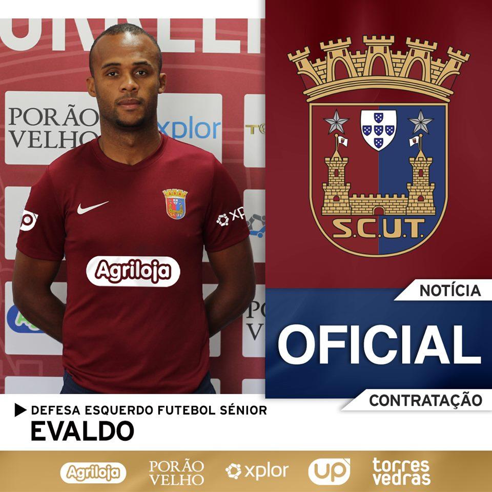 Evaldo vai representar o Torreense no Campeonato de Portugal