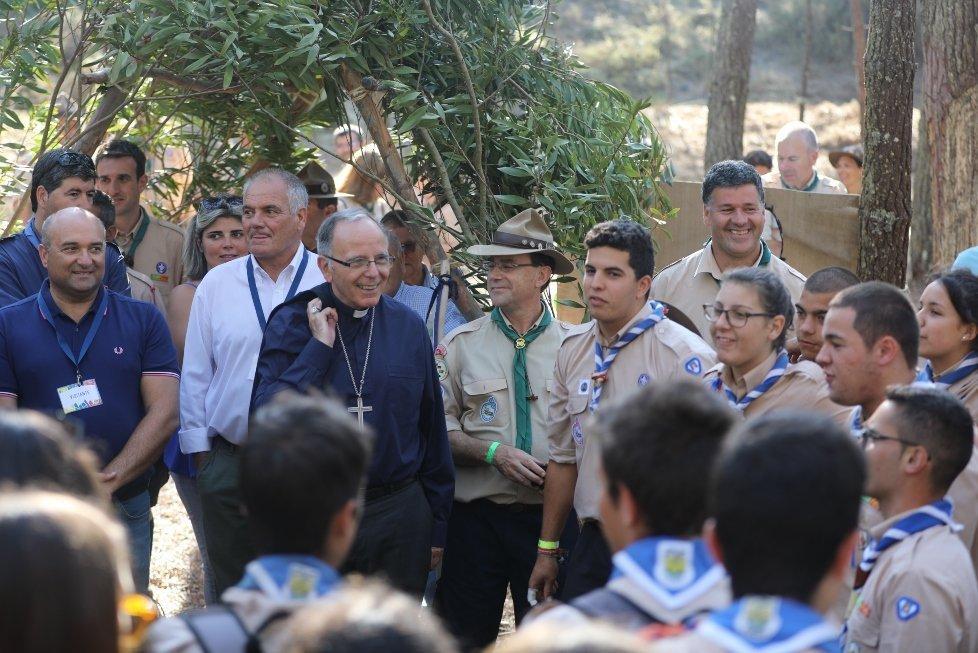 Cardeal Patriarca de Lisboa inaugurou no concelho de Peniche o maior Acampamento do Núcleo do Oeste
