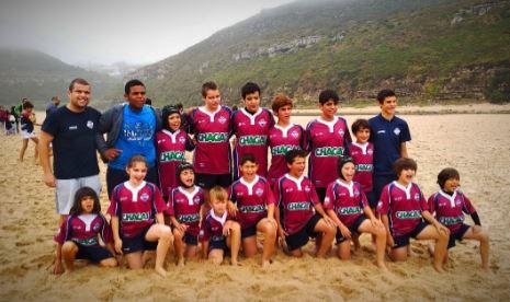 Torreense Rugby em grande no Ericeira Beach Rugby