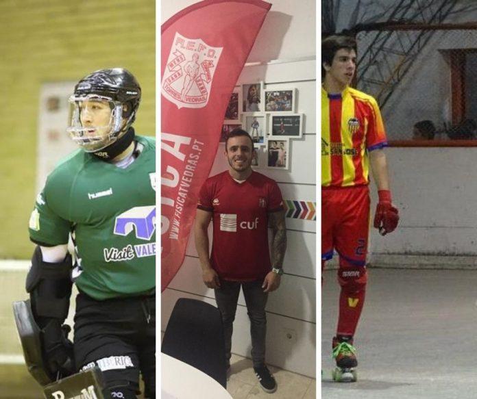 Física com três novos reforços para a equipa sénior de hóquei em patins