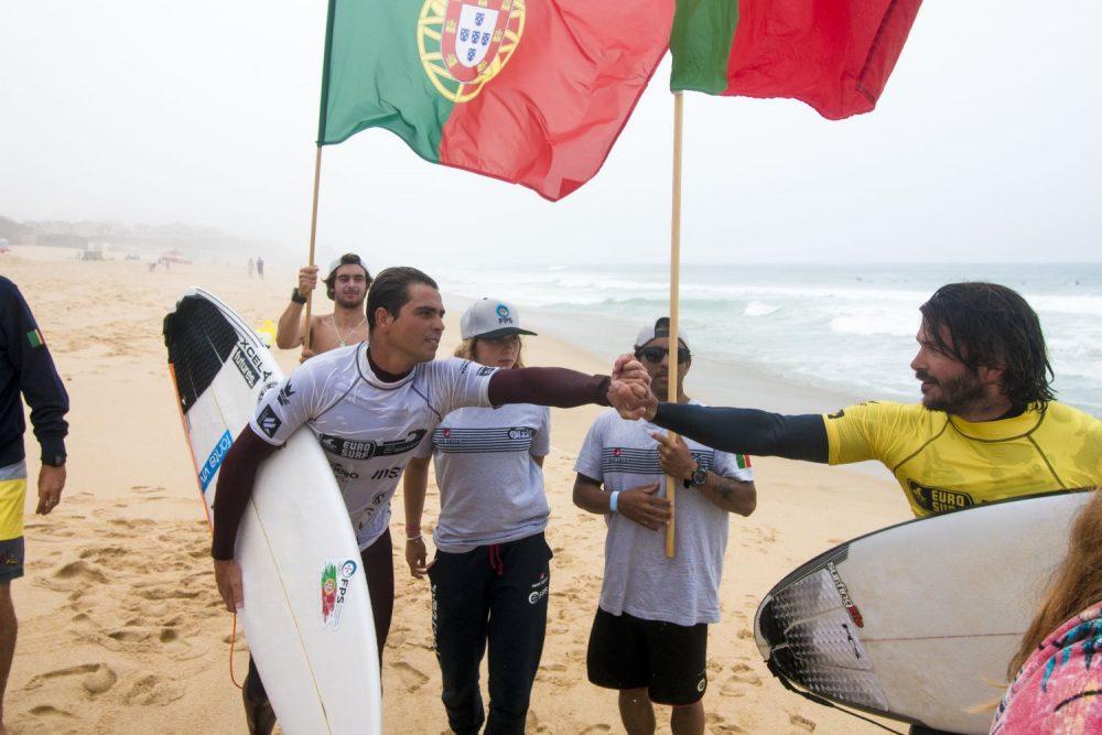 Dia de competição renhida no Eurosurf 2019 com Longboard Masculino e Feminino em destaque