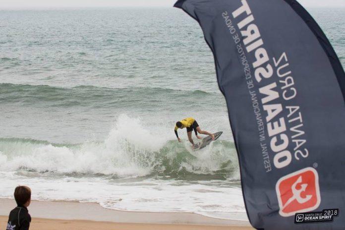 Skimboard foi o centro das atenções no primeiro dia de competição no Santa Cruz Ocean Spirit