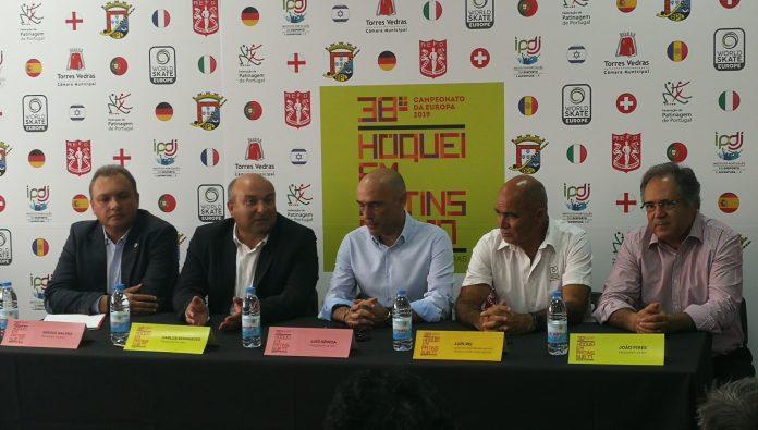 Campeonato Europeu de Hóquei: primeiro jogo hoje às duas da tarde