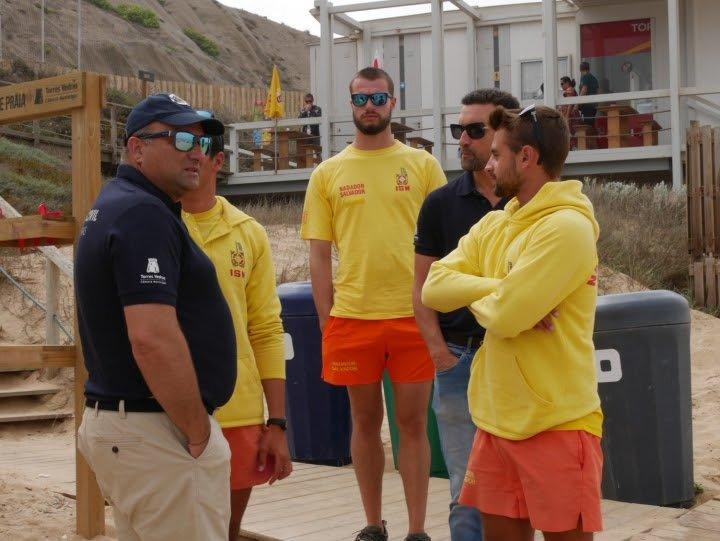Presidente da Câmara realizou visita técnica à zona balnear do concelho de Torres Vedras