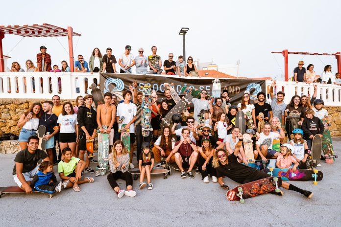 Lotfi Lamaali animou Praia de Santa Cruz