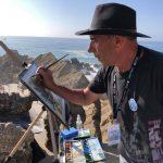 """""""Todo um mundo, num só sítio"""" foi o mote do 11.º Encontro Internacional de Aguarela de Santa Cruz"""