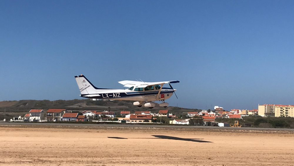 Segundo dia de prova Air Navigation Race hoje em Santa Cruz