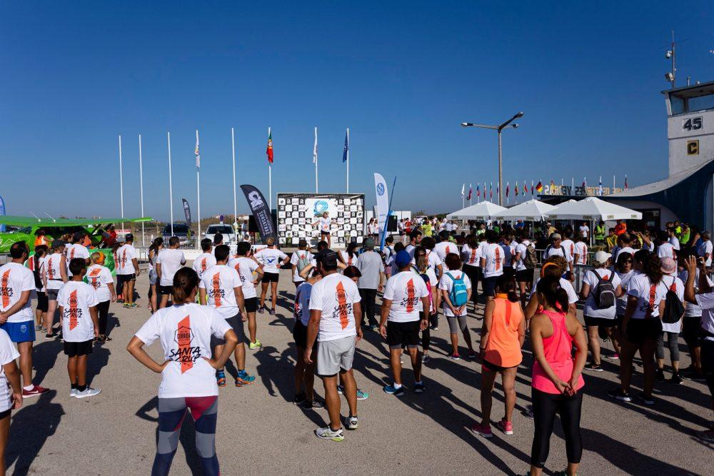 """400 participantes """"suaram"""" para concluir a Corrida Sealand Santa Cruz"""