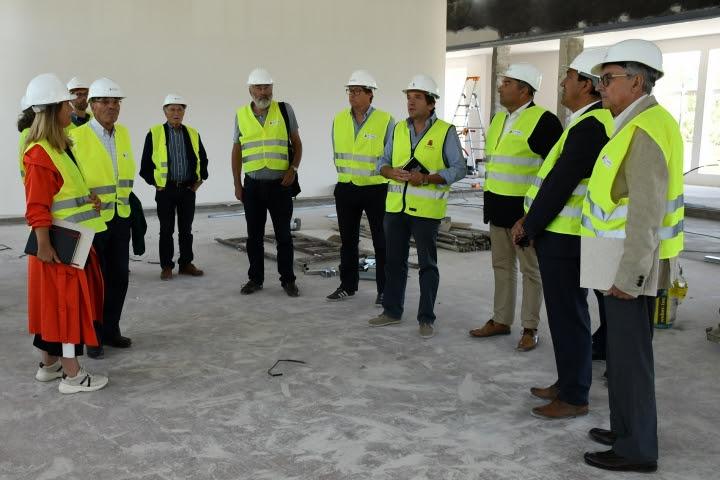 Conselho Consultivo visitou o futuro Museu de Ciclismo Joaquim Agostinho