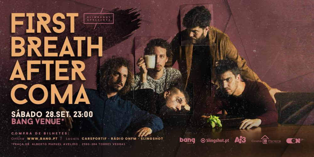 First Breath After Coma em concerto na Bang Venue