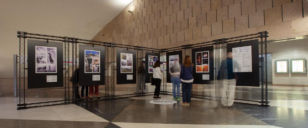 """LISBOA: Exposição """"25 anos & 25 projetos"""" na estação de Metro da Alameda"""