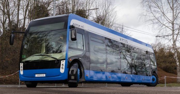 Autocarro 100% elétrico