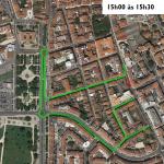 Sinalização das Ciclovias leva ao corte temporário de trânsito em artérias da cidade