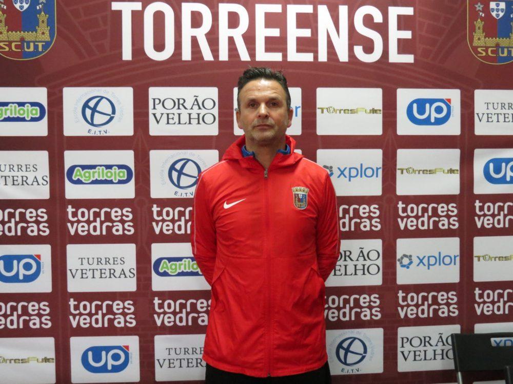 Quim Berto é o novo treinador do Torreense