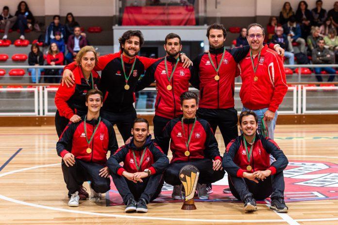 Equipa de Sub20 de Hóquei em Patins da Física já recebeu a Taça Nacional Zona Sul