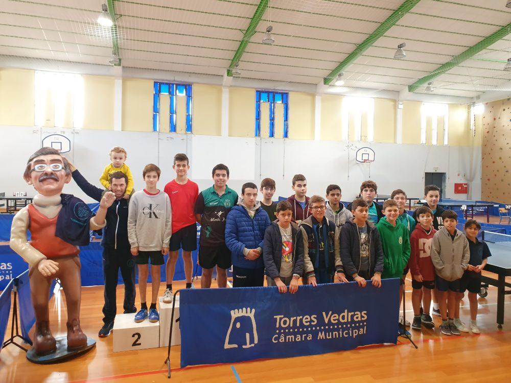 Torneio Tomé Borges homenageou um dos maiores entusiastas do Ténis de Mesa Torreense