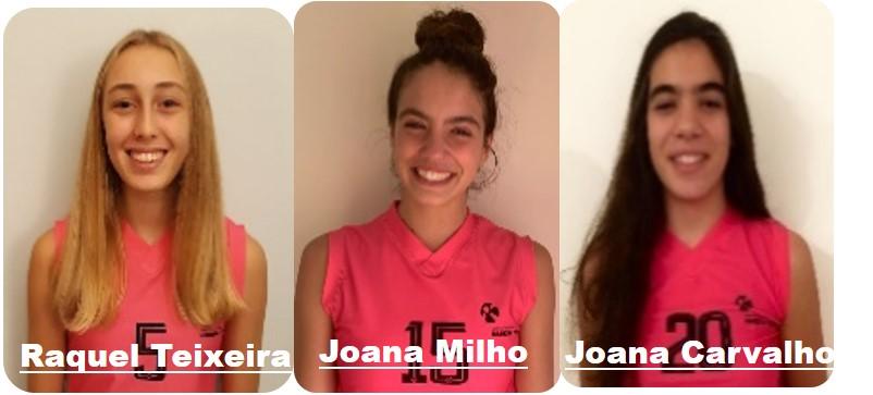 Atletas da Madeira Torres convocadas para a seleção nacional
