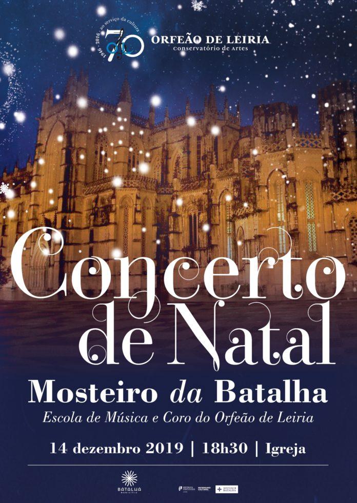 Mosteiro da Batalha acolhe concerto de Natal da Escola de Música e do Coro do Orfeão de Leiria