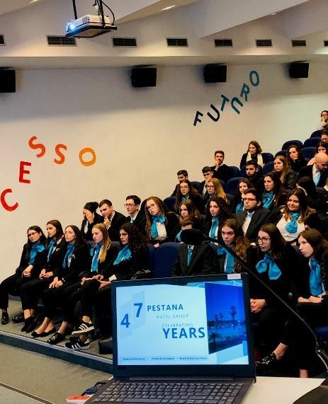 Grupo Pestana realizou sessão de partilha na ESCO