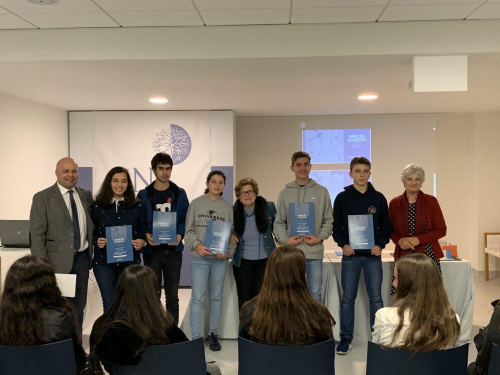 Prémio CNS atribui menção honrosa a alunos da Escola Básica de São Gonçalo
