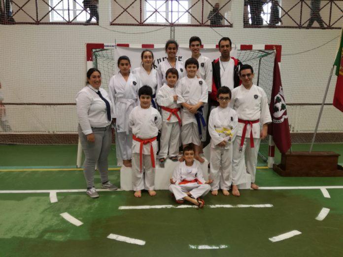 Clube de Karate Shodai Torres Vedras conquista 7 medalhas