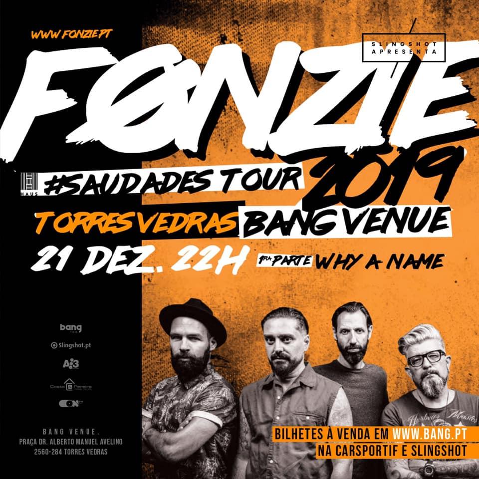 O regresso dos FONZIE aos palcos vai passar por Torres Vedras