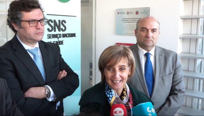 Ministra Marta Temido inaugura centro de saúde em Torres Vedras