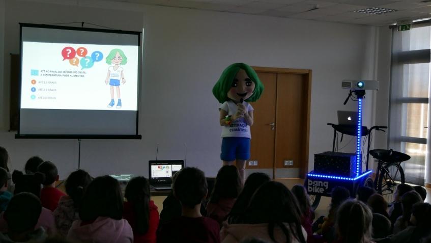 OesteCim sensibilizou crianças do concelho para as alterações climáticas
