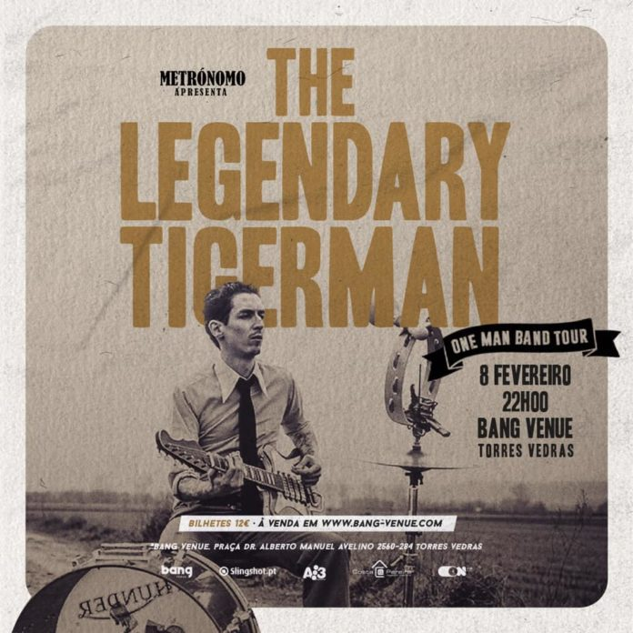 A Bang Venue procura bandas para abrir o concerto The Legendary Tigerman