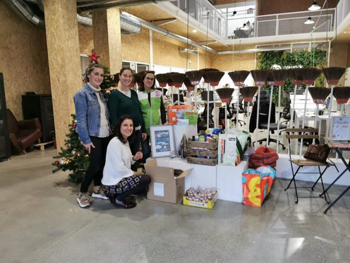 23 família ajudadas com a campanha #apoiaradobrar do Cowork Torres Vedras