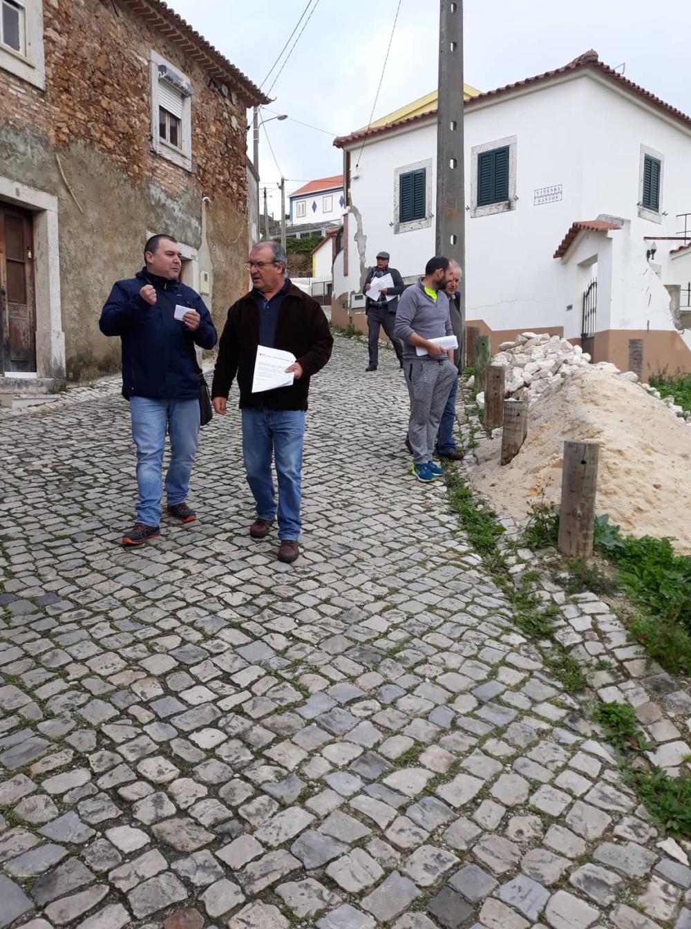 CDU arranca com campanha de contacto concelhia na antiga freguesia de Matacães
