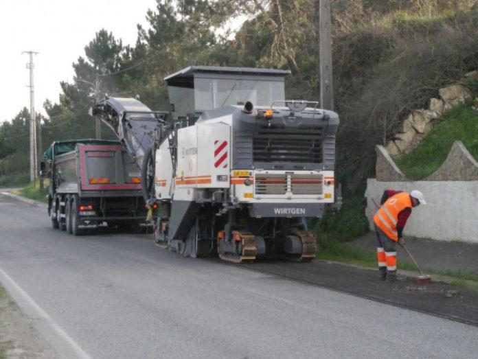 Caminho Municipal 1055, na localidade da Fonte Grada, foi recentemente alvo de reparação