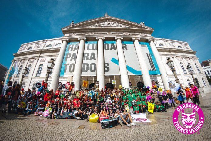 Comitiva do Carnaval de Torres desloca-se este sábado a Lisboa