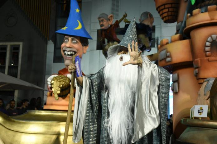 """Está oficialmente aberta a """"magia"""" carnavalesca em Torres Vedras."""