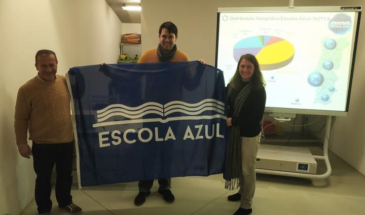 """Externato de Penafirme é a primeira """"Escola Azul"""" do concelho"""