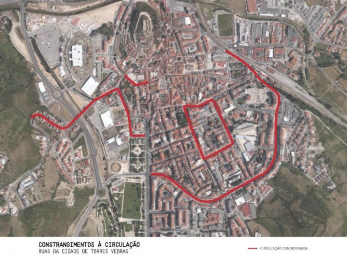 Doze artérias da cidade de Torres Vedras vão ser intervencionadas