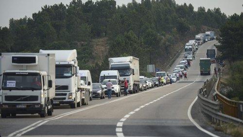 Utilizadores do IC2 voltam hoje a fazer marcha lenta de protesto entre Benedita e Aveiras