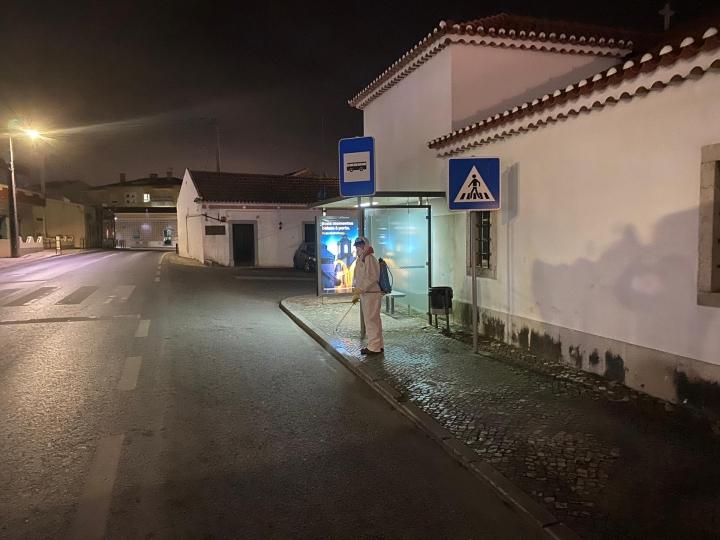 Ruas de Torres Vedras começaram a ser desinfetadas
