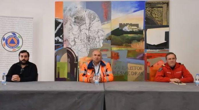 Carlos Bernardes fez balanço do trabalho de prevenção da doença COVID-19 no concelho