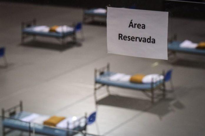 Covid-19: Alenquer com 100 camas em espaços alternativos à Base Aérea da Ota